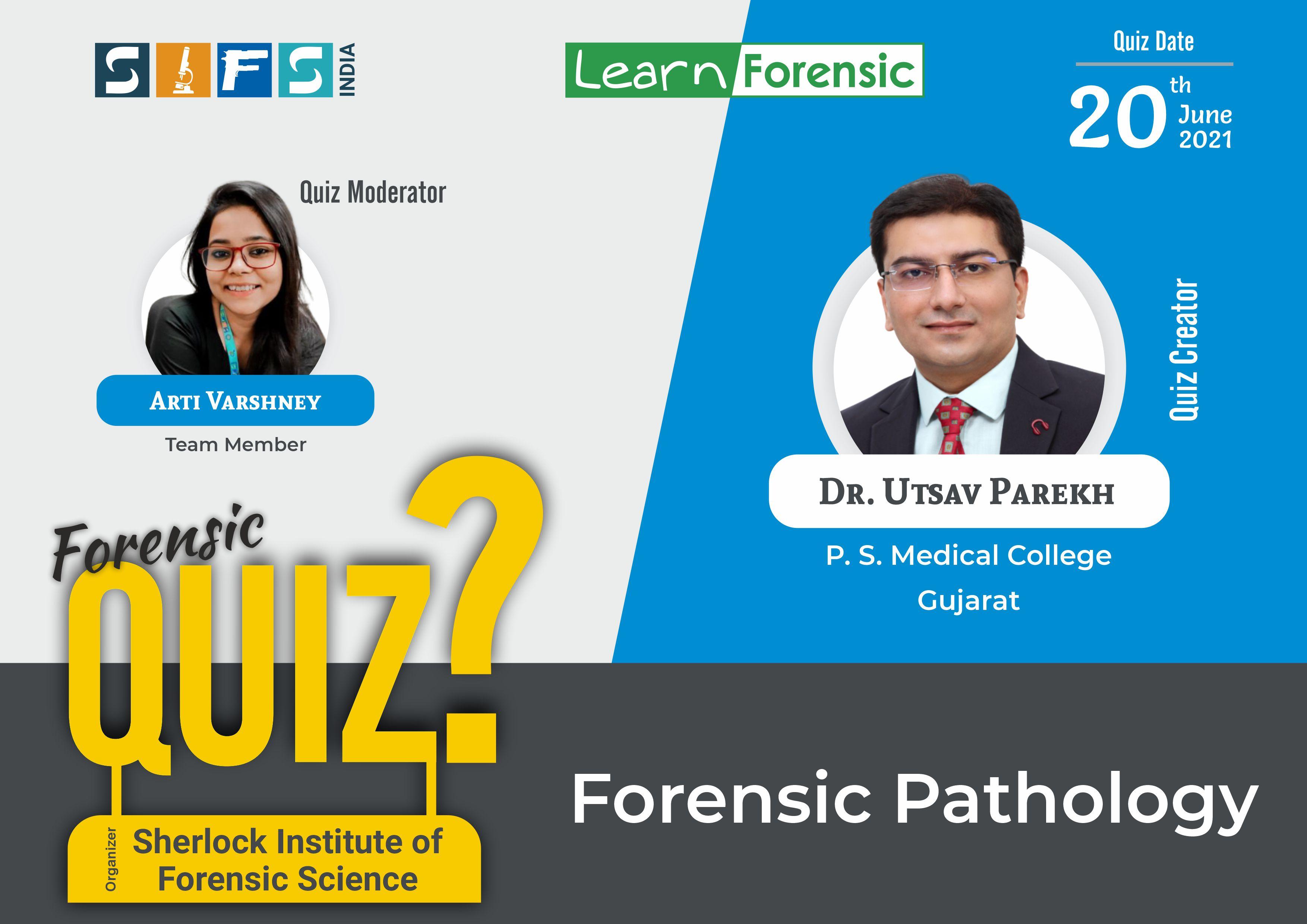 Forensic Pathology- Answers