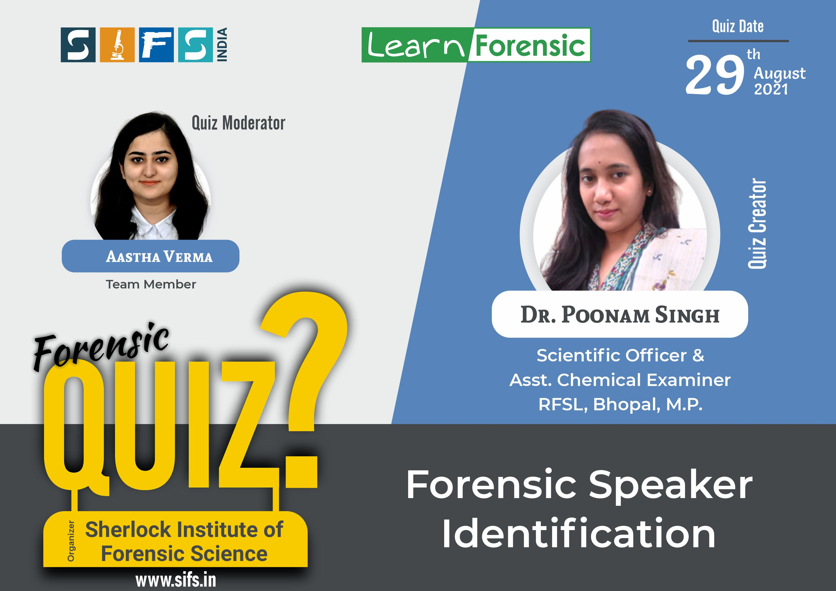 Forensic Speaker Identification - Answers