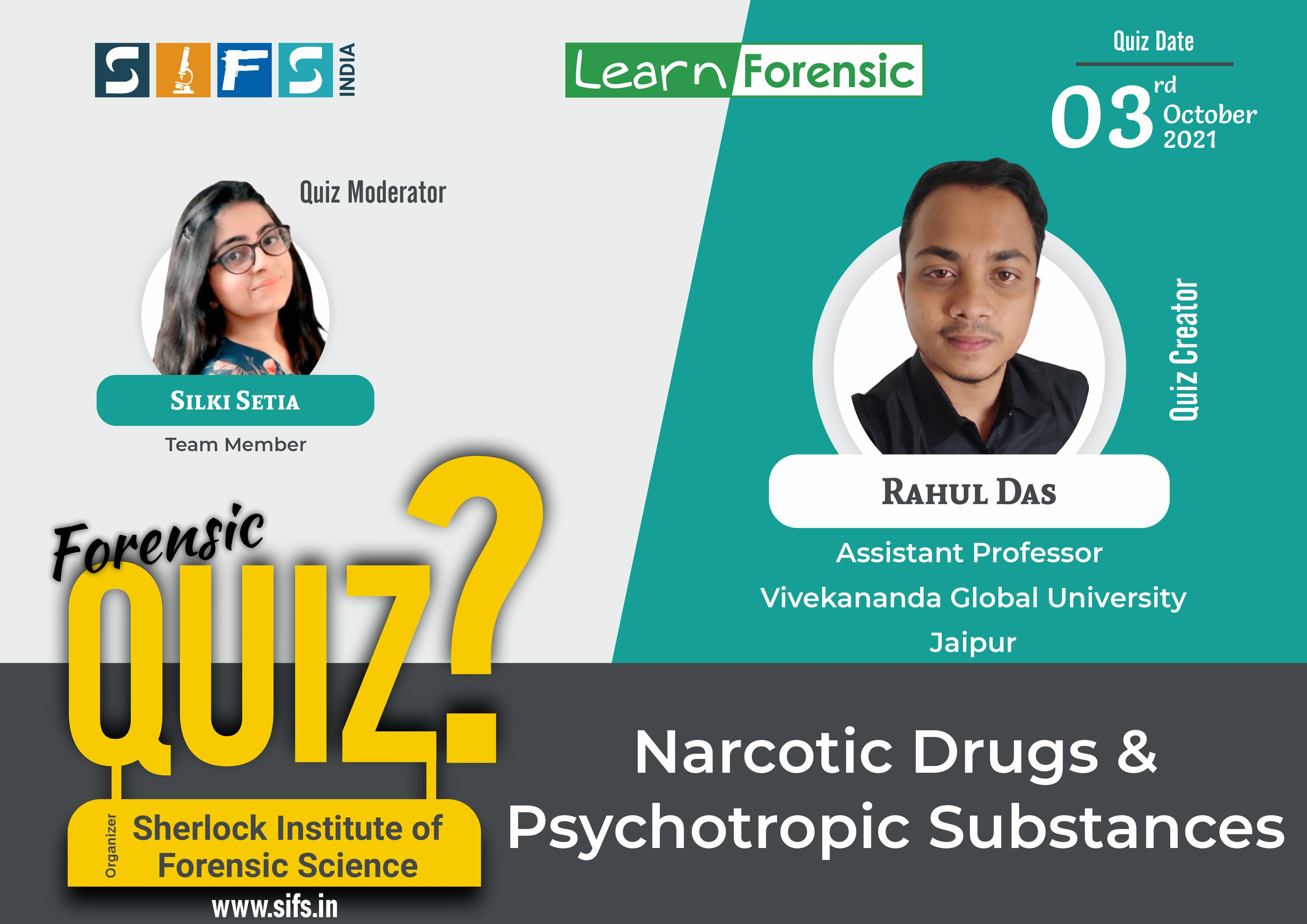 Narcotic Drugs & Psychotropic Substances - Answers