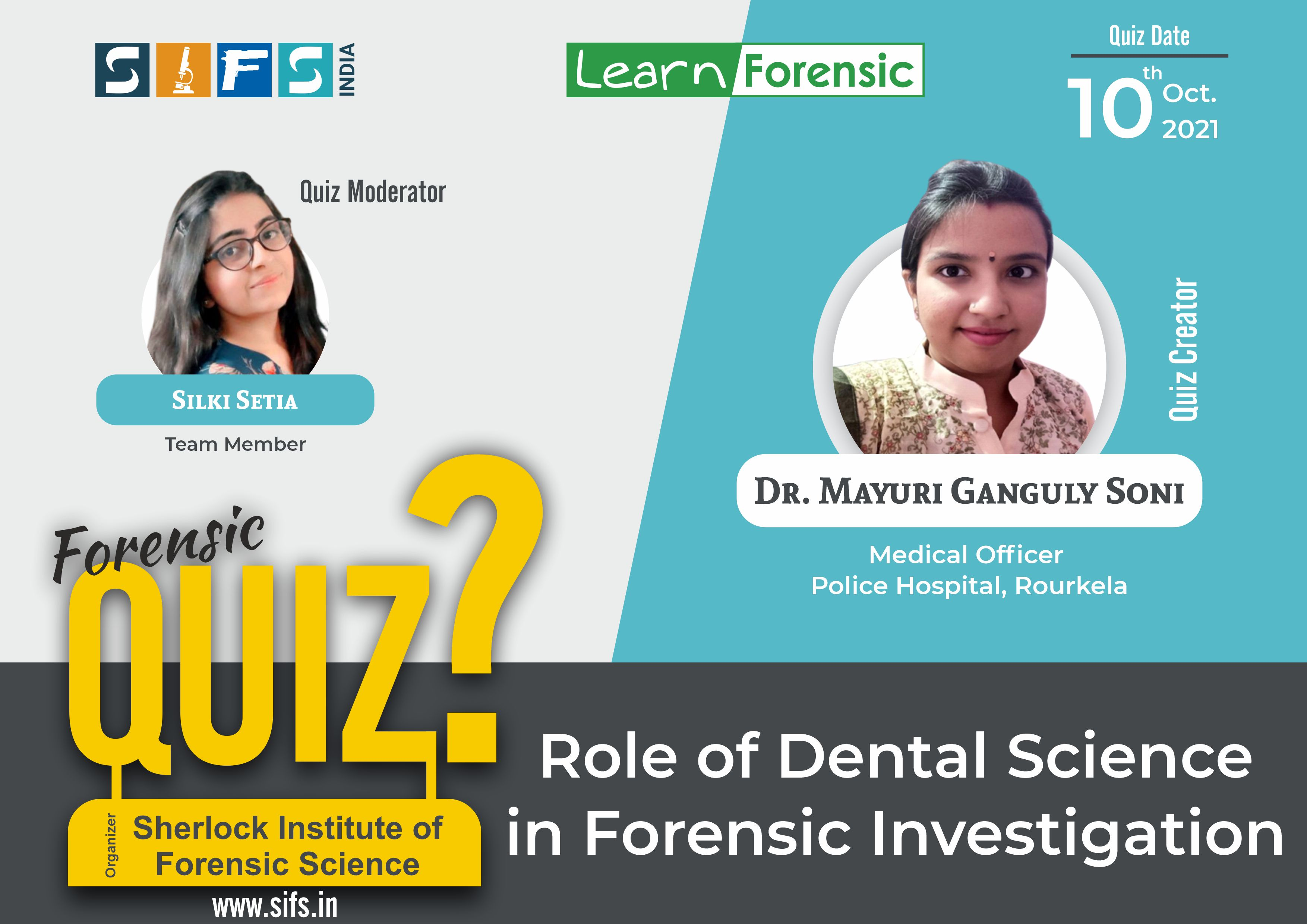 Role of Dental Science in Forensic Investigation