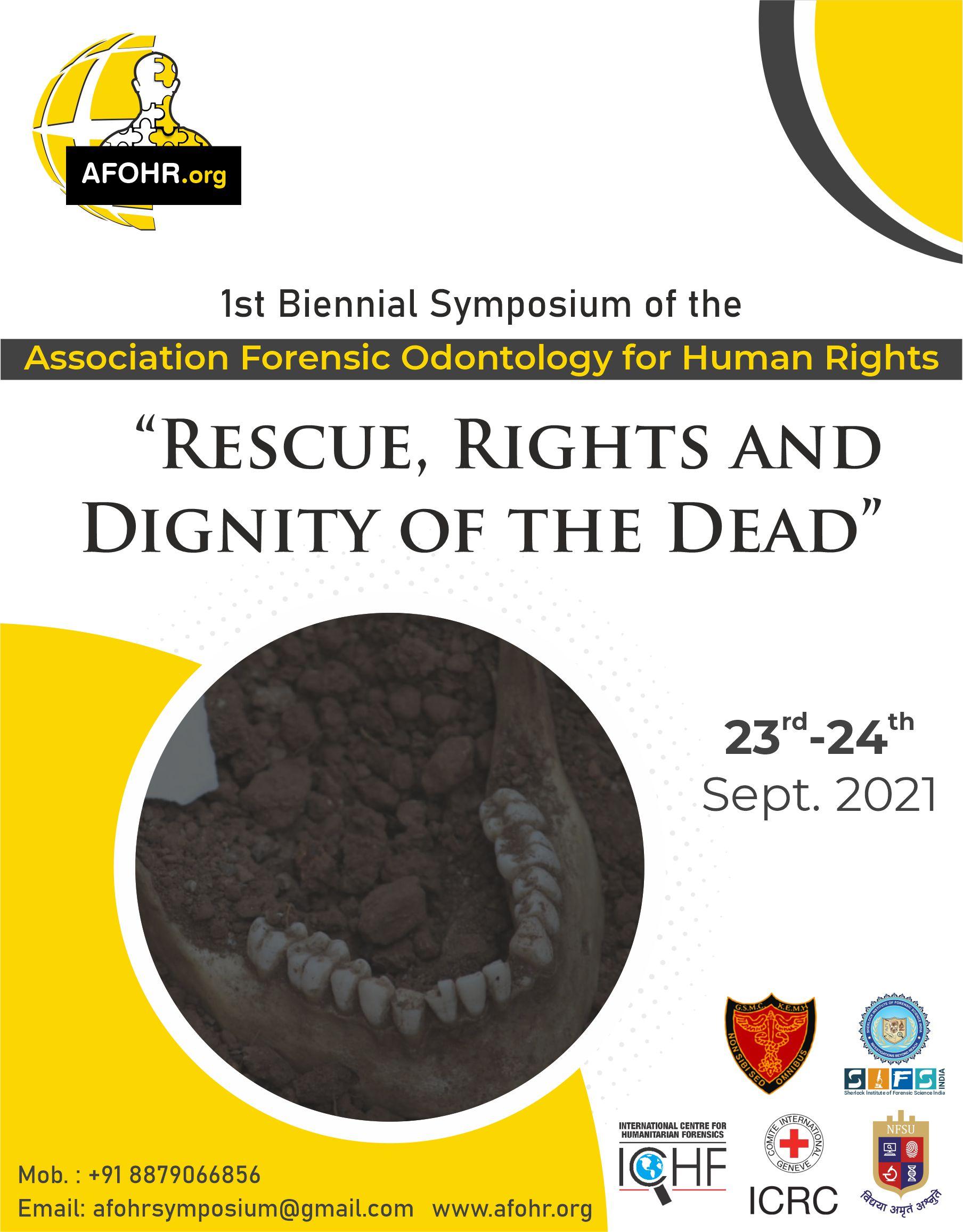 1st Biennial Symposium of AFOHR