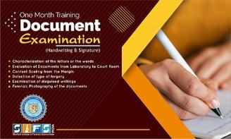 Document Examination Training